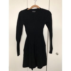 Club Monaco wool black dress